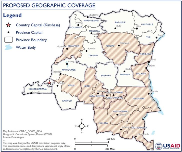 Cartographie INN/RDC