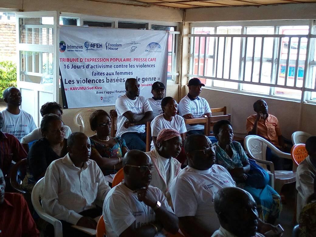 Café Presse à Kavumu (Sud Kivu)- procès de Kavumu : violences sexuelles contre des mineures de 8 mois à 12 ans (AFEM-SK/Internews)