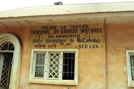 Nord-Kivu: Les récentes ordonnances présidentielles révoquant 200 magistrats ont  renforcé le problème de sous-effectif dans les tribunaux de Butembo et Lubero. (Alkavis VIKONGO/Radio Muungano)