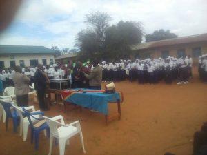 Lancement des épreuves d'examen d'Etat à Beni