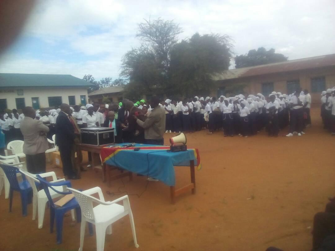 Beni: Plus de 3000 élèves finalistes repartis dans neuf centres passeront leurs épreuves d'examens d'Etat sans perturbation. (Alphonse VIKONGO/Radio Muungano)