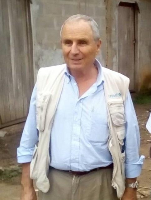 Equateur : Le représentant intérimaire de l'Unicef, Gianfranco Rotigliano, a salué les efforts du gouvernement Congolais et de tous les partenaires impliqués dans la lutte contre Ebola. (Peter GBIAKO / Radio Mwana )