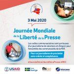 Discours de Modeste Shabani (Président de la FRPC) – Journée Mondiale de la Liberté de la Presse – Français