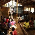 Une salle de classe dans un village du Kivu CP: DR