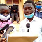 Les élèves de Butembo revendiquant la reprise des cours après déconfinement CP: DR