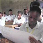 Des élèves finalistes en pleine session de l'examen d'Etat CP:DR