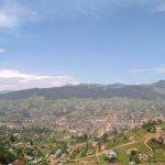 La ville de Lubero au Nord-Kivu CP:DRC