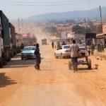 Route Kasumbalesa CP:DR