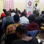 """""""Journalisme et Elections en temps de désinformation"""", thème du débat Café presse organisé par Internews à Kinshasa en marge de la Journée Internationale de la Liberté de la Presse."""